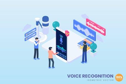 Voice Recognition Concept Illustration