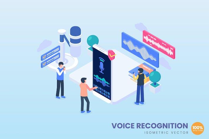 Thumbnail for Voice Recognition Concept Illustration