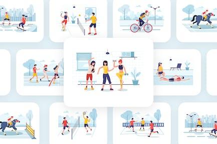 Sport Illustratoren Pack