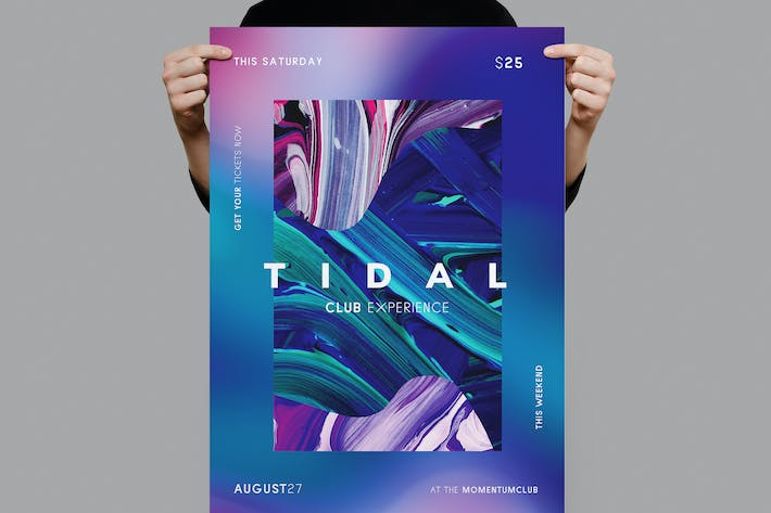 Thumbnail for Tidal Flyer / Poster Template