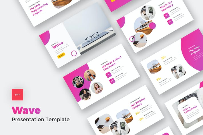 Thumbnail for IT Solutions & Services PowerPoint Template