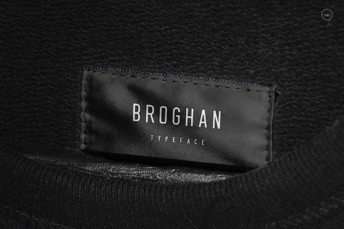 Thumbnail for Broghan- Modern Typeface + WebFonts