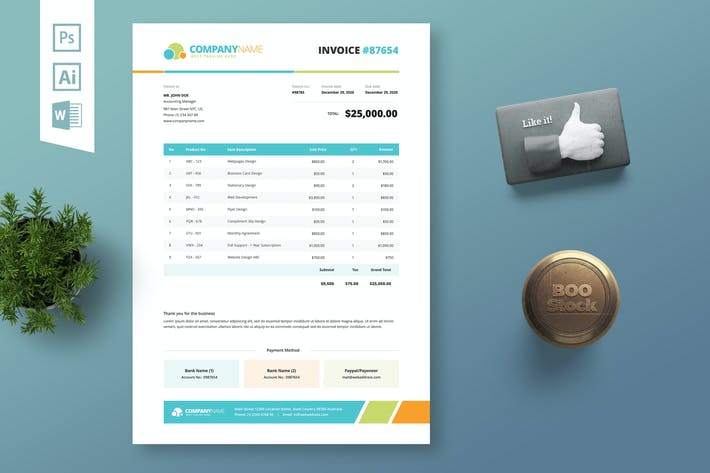 Invoice Template 09