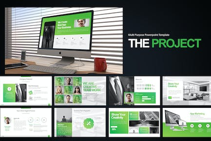 The Project Keynote Templates