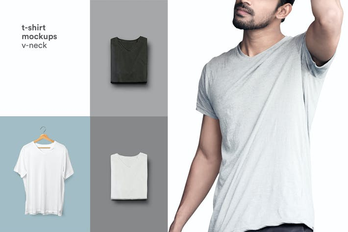 Thumbnail for Camiseta Mock-up