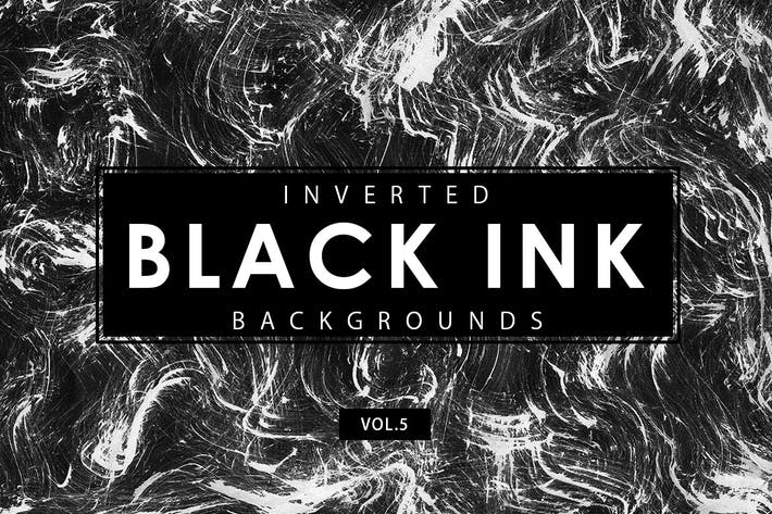 Thumbnail for Inverted Black Ink Backgrounds 5
