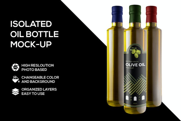 Thumbnail for Olive oil Mockup