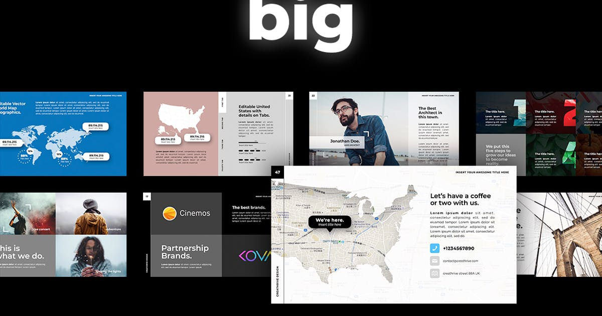 Download Big PowerPoint by CreathriveDesign