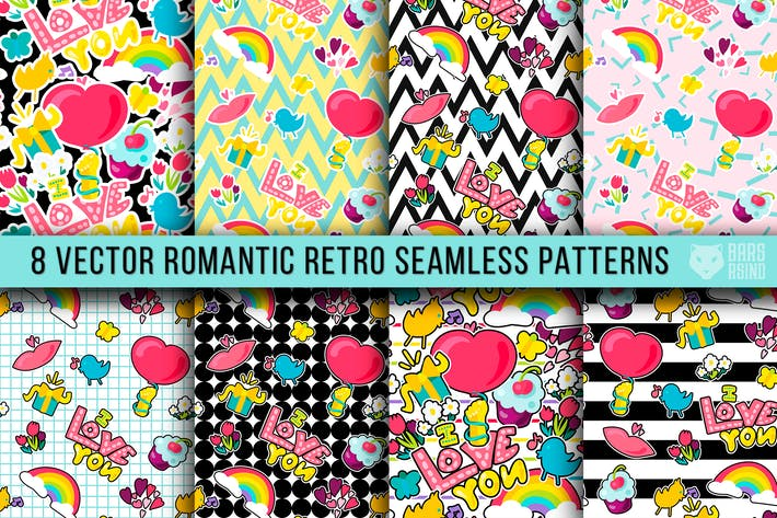 Thumbnail for Retro Romantic Patterns
