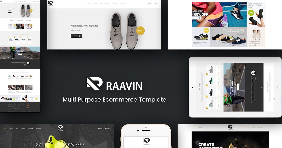 Download Raavin - Shoes Responsive Prestashop Theme by Plaza-Themes