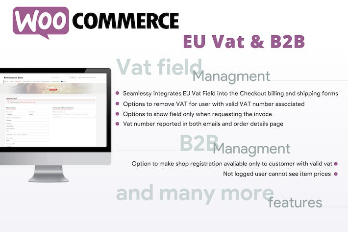 Thumbnail for WooCommerce Eu Vat & B2B
