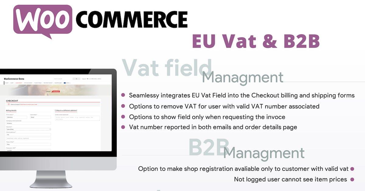 Download WooCommerce Eu Vat & B2B by vanquish