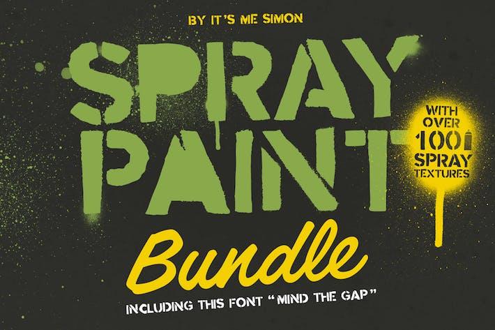 Thumbnail for Paquet de peinture en aérosol