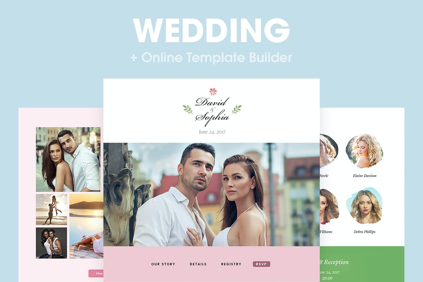 Wedding - Responsive Email Template by HyperPix on Envato Elements