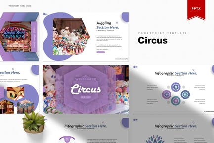 Цирк | Шаблон Powerpoint