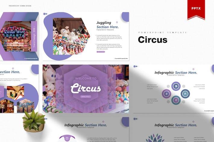 Thumbnail for Цирк | Шаблон Powerpoint