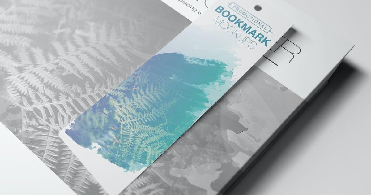 Download Promotional Bookmark Mockups Vol2 by Wutip