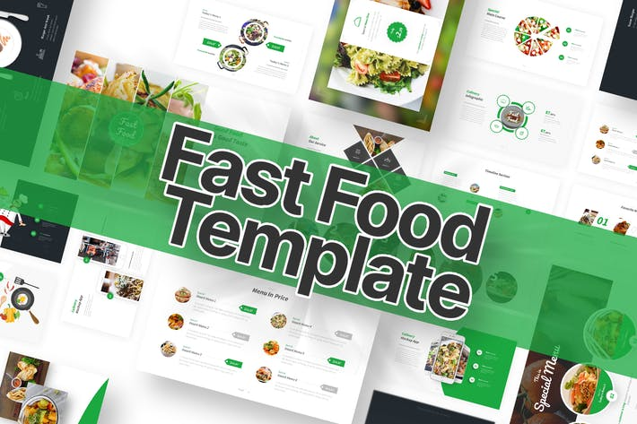 Thumbnail for Fast Food Powerpoint Template