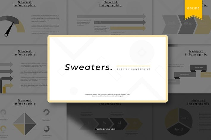 Thumbnail for Sweaters | Google Slides Template