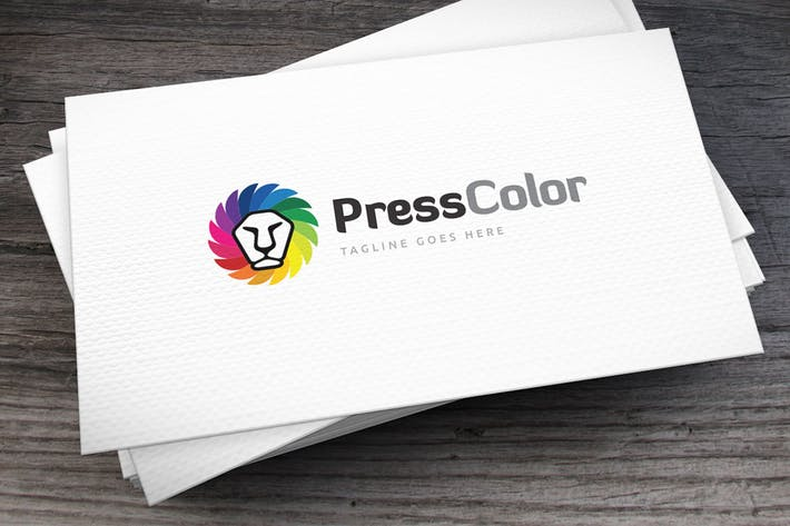 Thumbnail for Press Color Logo Template