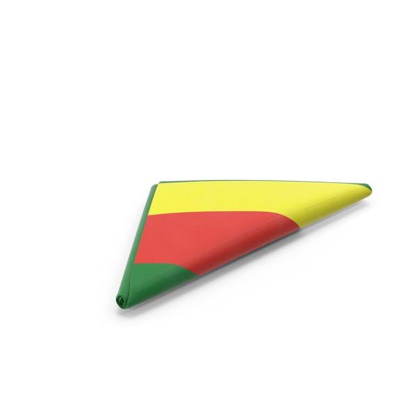 Flag Folded Triangle Bolivia