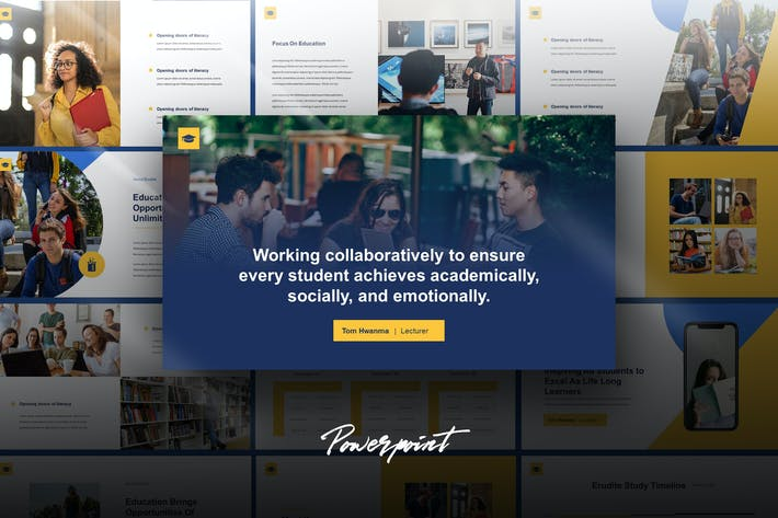 Erudite - Education Powerpoint Template
