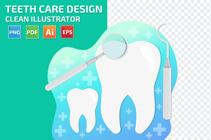 Dental Teeth care Design