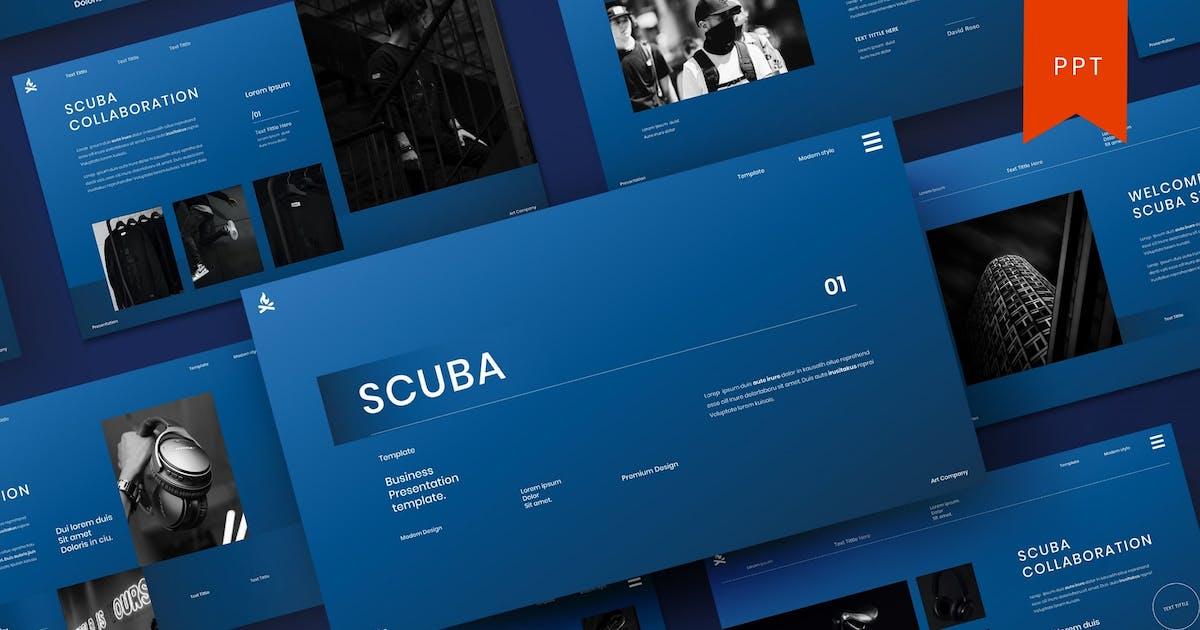 Scuba – Business PowerPoint Template by DensCreativeStudio
