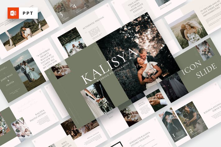 Kalisya - Wedding Photography Powerpoint Template