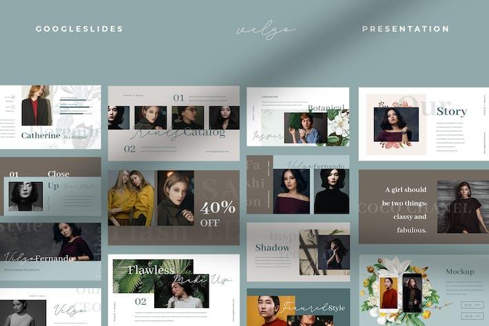 Thumbnail for Velgo - Fashion Catalogue Google Slides