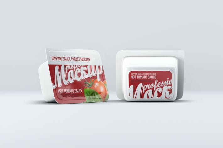 Thumbnail for Dipping Sauce Packet Mock-Up