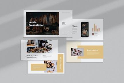 Lumia : Bakery Google Slides