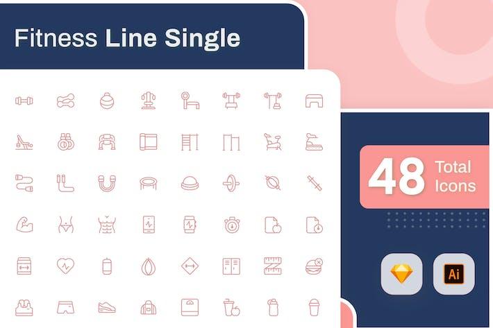 Thumbnail for Line Senja - Fitness