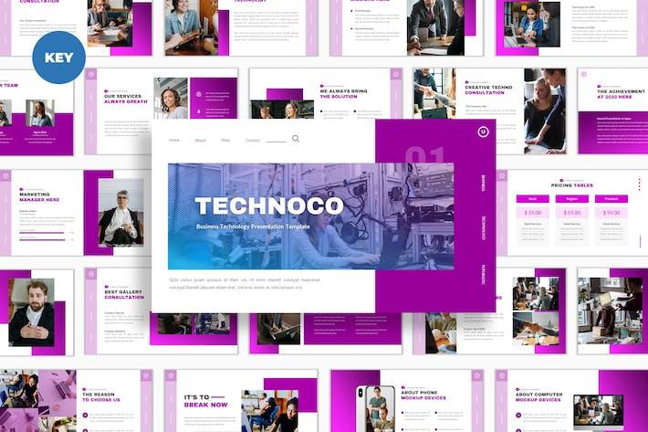 Thumbnail for Keynote по технологиям Technoco