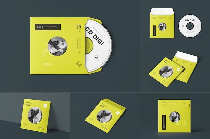 Thumbnail for CD Envelope Mock-up