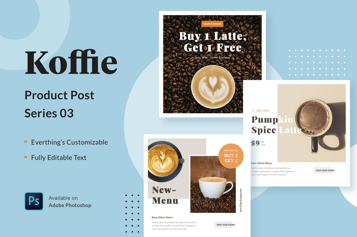 Thumbnail for Koffie Product - Series 03