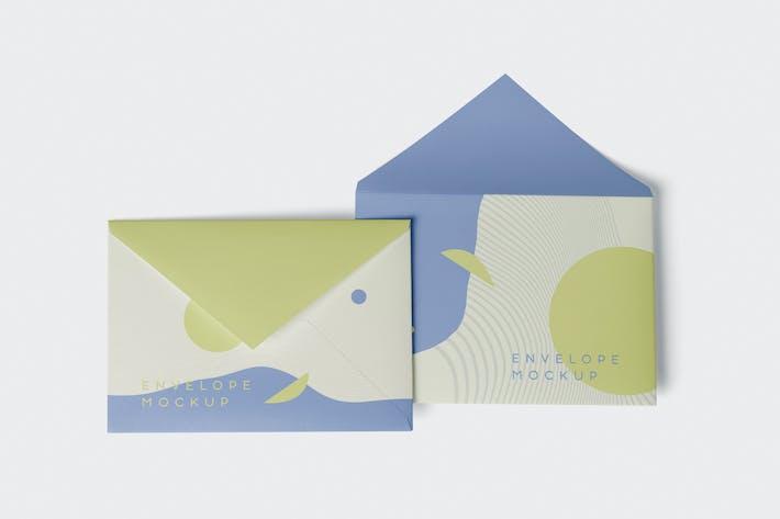 Thumbnail for Envelope C5 - C6 Mock-Up Set