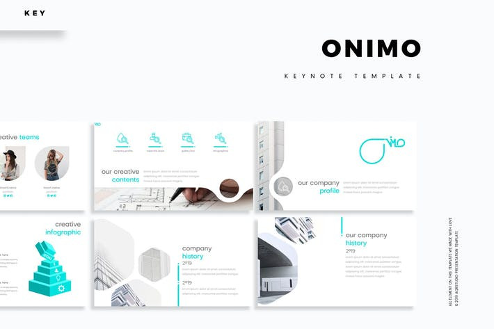 Cover Image For Onimo - Keynote Template