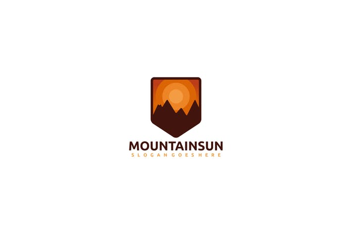 Cover Image For Mountains and Sun Logo