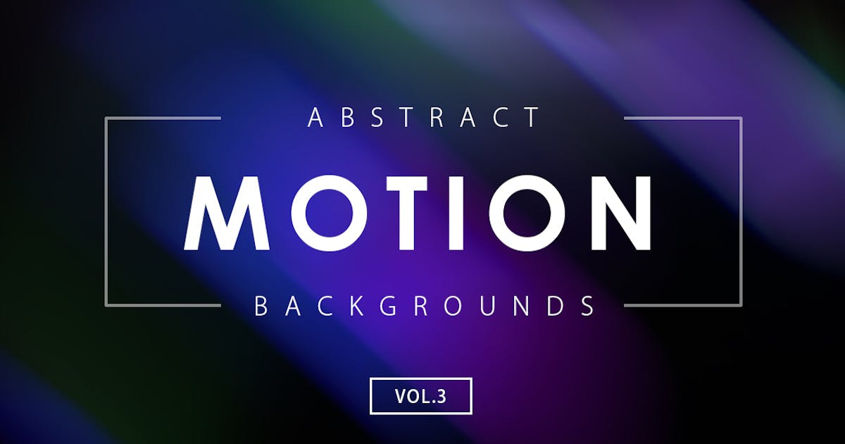 Download 30 Motion Backgrounds Vol. 3 by M-e-f