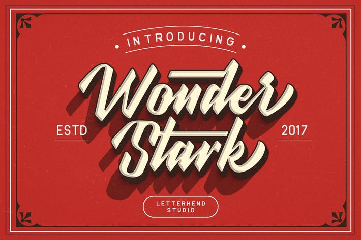 Thumbnail for Wonder Stark Font