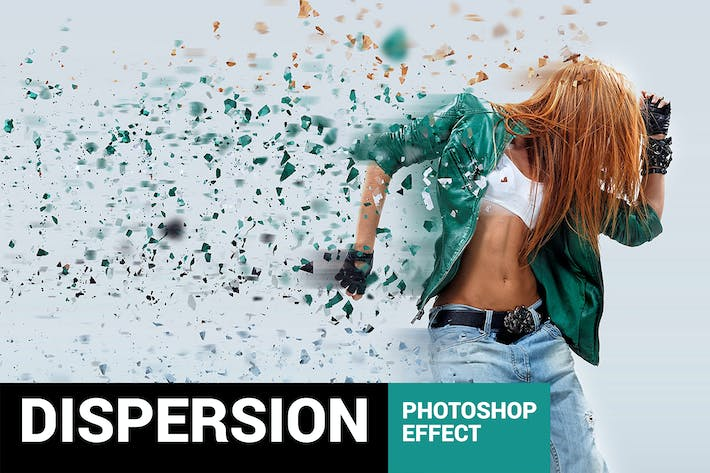 Thumbnail for Elementum - Dispersion Photoshop Action