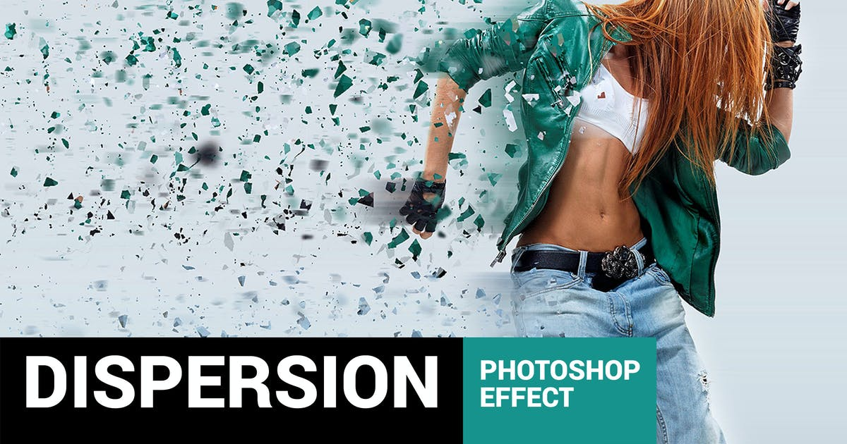 Download Elementum - Dispersion Photoshop Action by profactions