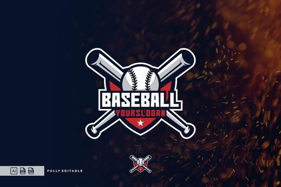 Baseball Esport Logo