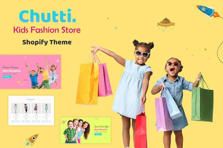 Chutti - Магазин товаров для детей Shopify, Детская мода Shopify