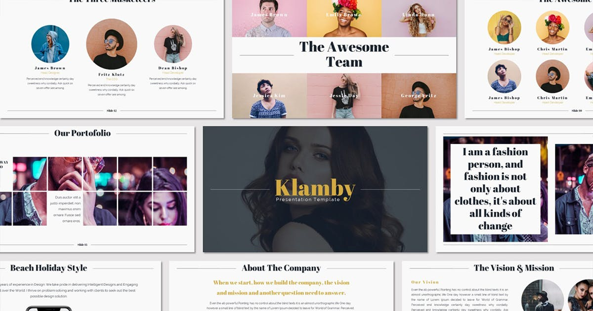 Download Klamby - Keynote Template by Unknow
