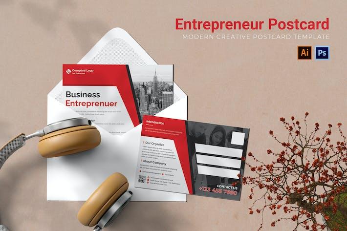 Entrepreneur Postcard AC