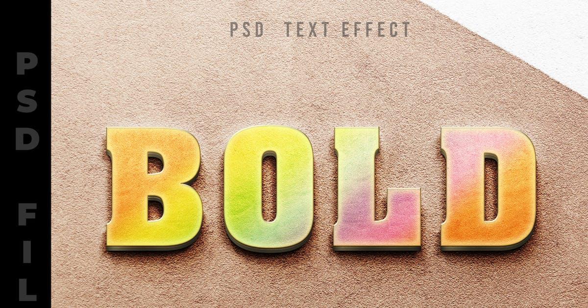 Download Rainbow 3D - Text Effect by modaldesain