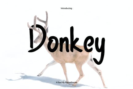 Donkey Font YR