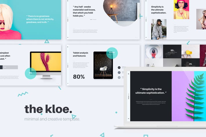 Thumbnail for KLOE Minimal & Creative Template (Keynote)
